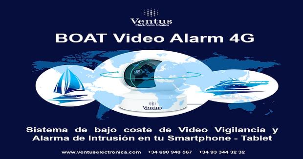 Portada BOAT Video Alarm 4G - Ractangula