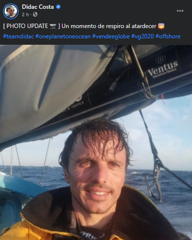 Sorteamos una PLB McMurdo FastFind 220 idéntica a la que lleva Dídac Costa en la Vendée Globe 2020