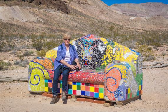 Rhyolite Nevada - Fancy Chair