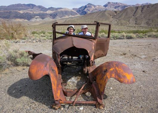 Ballarat Ghost Town - Old Car
