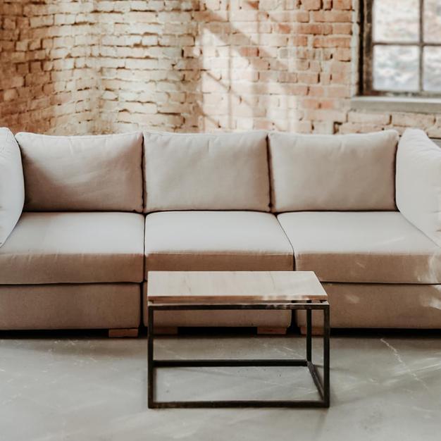 Bijela modularna sofa - trosjed