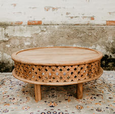 Drveni marokanski stol