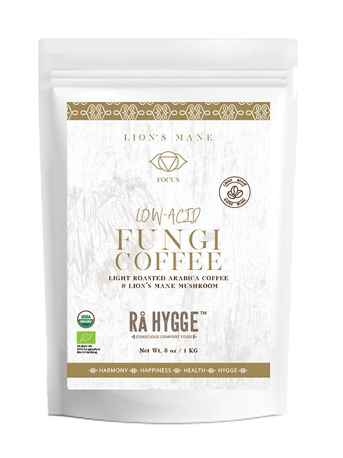 Lion´s Mane Low-Acid Fungi Coffee - Special 1 KG