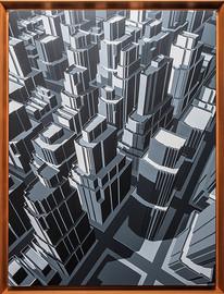 미구엘 앙헬 Miguel Angel Atardece que es sombra Acrylic on canvas 73x55 cm(20호) 2019