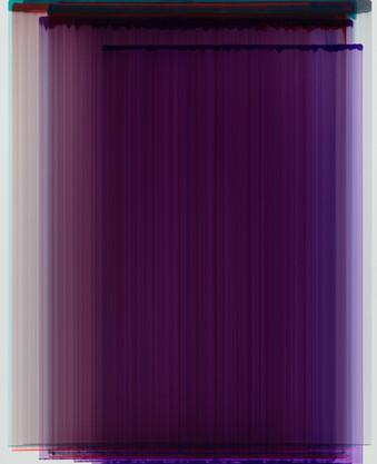 Layered Painting 100-20 acrylic on Canva
