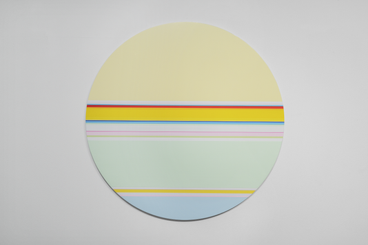 니콜라스 보데 Nicholas Bodde_No. 1464 Circle_Oil & Acrylic, Aluminium_Dm 100 cm_2020[저용량].tif