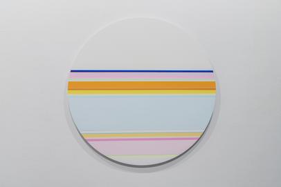 니콜라스 보데 Nicholas Bodde_No. 1460 Circle_Oil & Acrylic, Aluminium_Dm 80 cm_2020