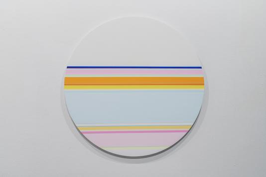 니콜라스 보데 Nicholas Bodde_No. 1460 Circle_Oil & Acrylic, Aluminium_Dm 80 cm_2020[저용량].tif