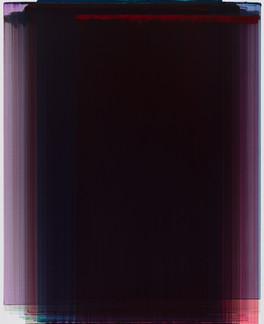 Layered Painting 100-38 acrylic on Canva
