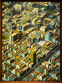 미구엘 앙헬, Digtinguido, 2017, Acrylic on Canvas, 101x74cm