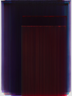 Layered Painting 130-12 acrylic on Canva
