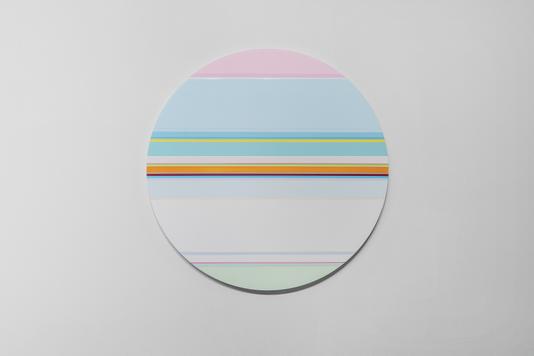 니콜라스 보데 Nicholas Bodde_No. 1459 Circle_Oil & Acrylic, Aluminium_Dm 60 cm_2020[저용량].tif