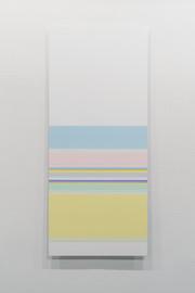 니콜라스 보데 Nicholas Bodde_No. 1161 Vertical _Oil & Acrylic, Aluminium_140 x 60_2015-2017