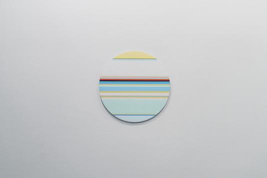 니콜라스 보데 Nicholas Bodde_No. 1462 Circle_Oil & Acrylic Aluminium_Dm 50 cm_2020[저용량].tif