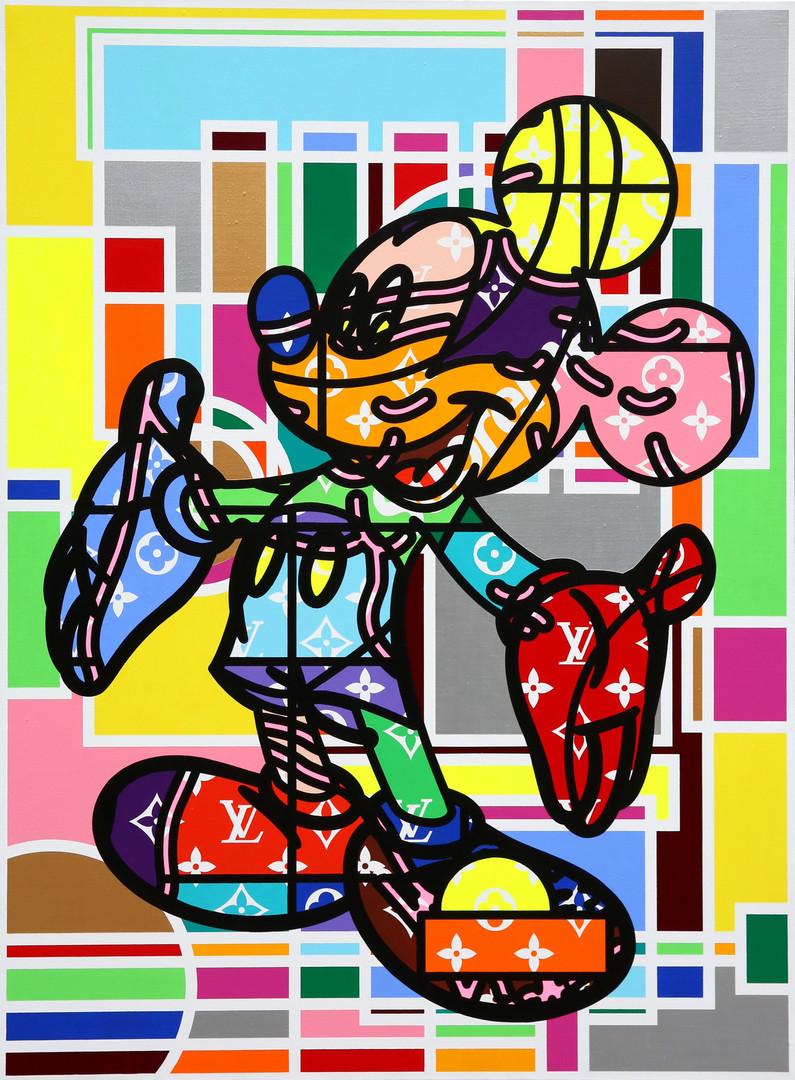 379_ART Mickey__97.0x130.3cm(60호)_acryli