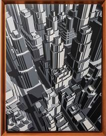 미구엘 앙헬 Miguel Angel Amanece que es pronto Acrylic on canvas 73x55 cm(20호) 2019