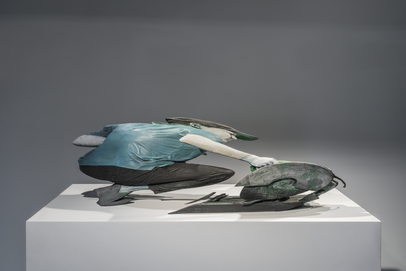 이환권, Untitled, PLA, wood shellac, H33.2 W76.2 D14.9 cm, 2019
