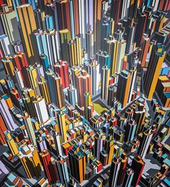 미구엘 앙헬 Miguel Angel El despertar del gran amarillo Acrylic on canvas 194x178 cm(150호) 2019