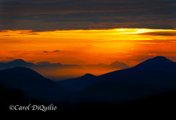 Sunrise over Mts