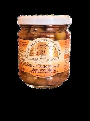 Taggiasche Oliven u/stein