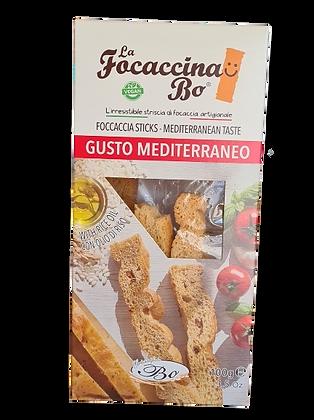 Focaccina sticks Mediterian