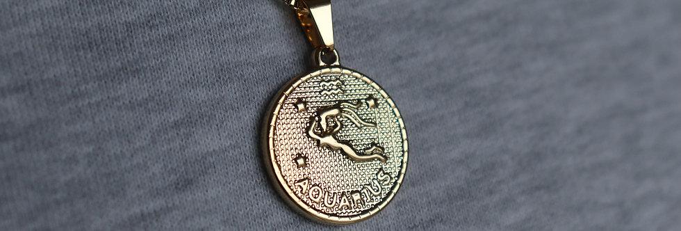 Aquarius Star Sign Necklace