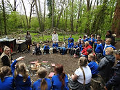 Year 3 Stone Age Day _ Compton Verney