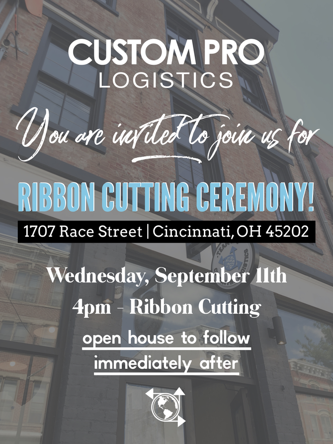 Custom Pro Logistics Announces Ribbon Cutting Ceremony for new Headquarters in historic Over-The-Rhi