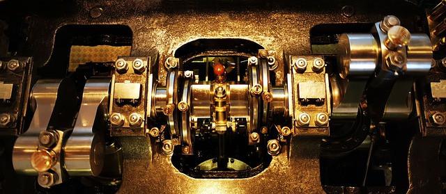 Motor engine.