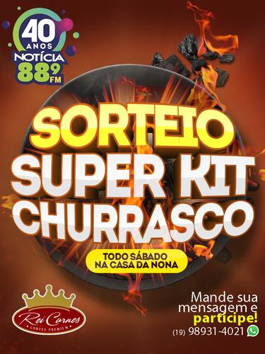 Sorteio Super Kit Churrasco