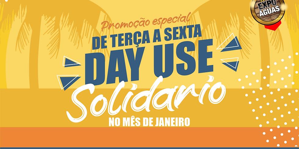 DAY USE EXPO ÁGUAS 14 DE JANEIRO 2021