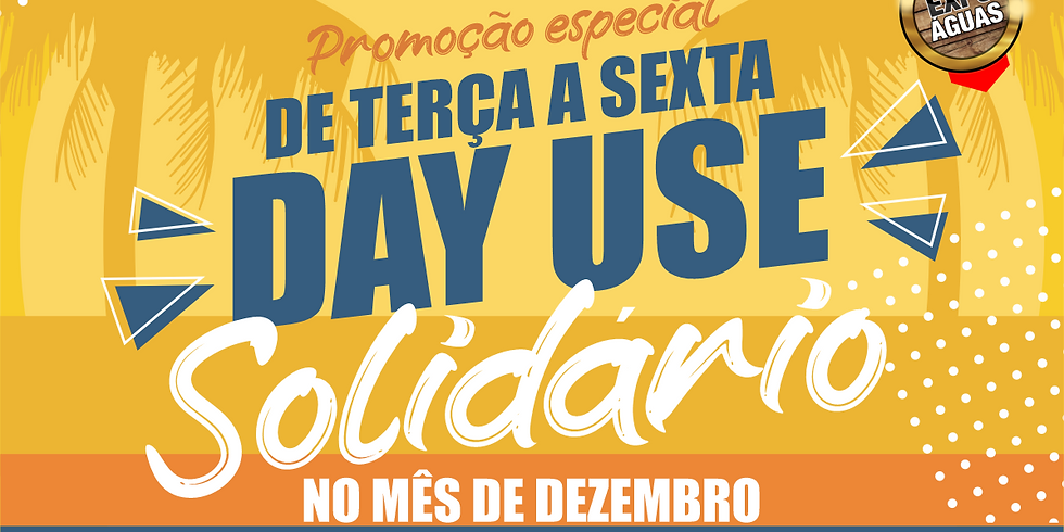 DAY USE EXPO ÁGUAS 10 DE DEZEMBRO 2020