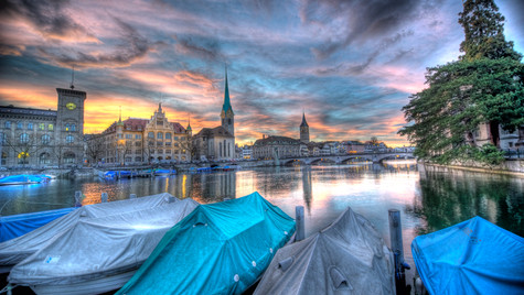 When Boats go to Sleep (HDR)