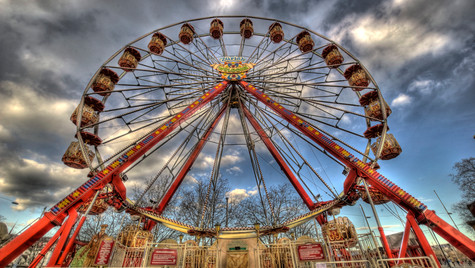 Nostalgic Ferris Wheel (HDR)