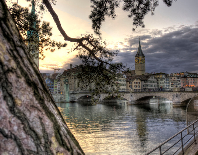 Limmat in the Evening (HDR)
