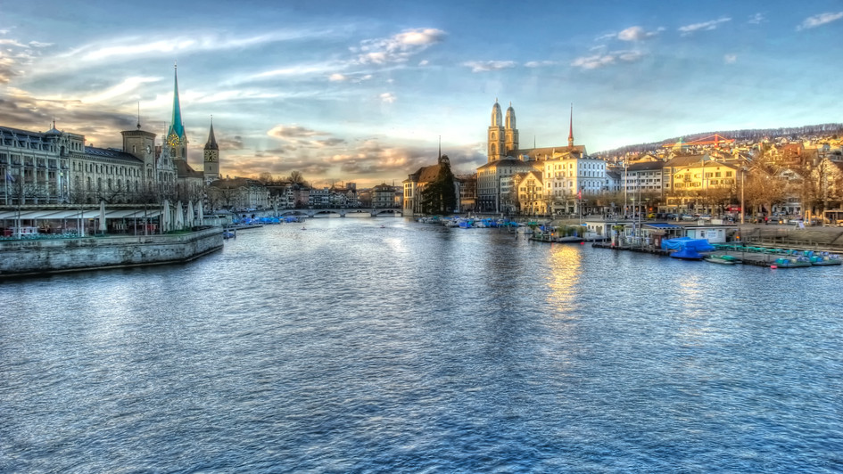 Zurich - Just Beautiful Zurich (HDR)