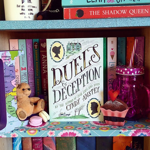 RESENHA: Duels and Deception (Anstey, Cindy)