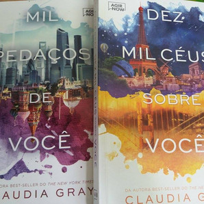 RESENHA: Mil Pedaços de Você (GRAY, Claudia)
