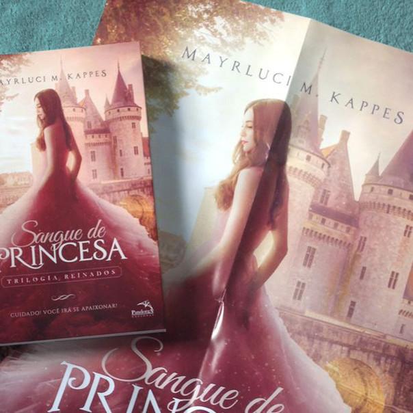 RESENHA: Sangue de Princesa (KAPPES, Mayrluci)