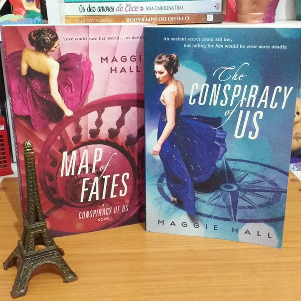 RESENHA: The Conspiracy of Us & Map of Fates (HALL, Maggie)