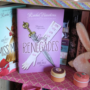 RESENHA: Lady Renegades (Hawkins, Rachel)
