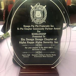 Xi Phi Chapter Community Award