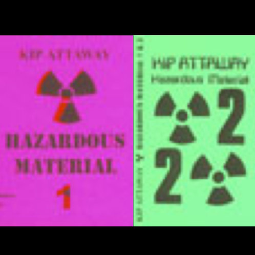 HAZARDOUS MATERIAL 1 & 2 CD