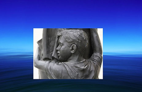 son-hugging-father in deep water.JPG