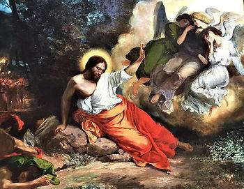 Jesus in garden.JPG