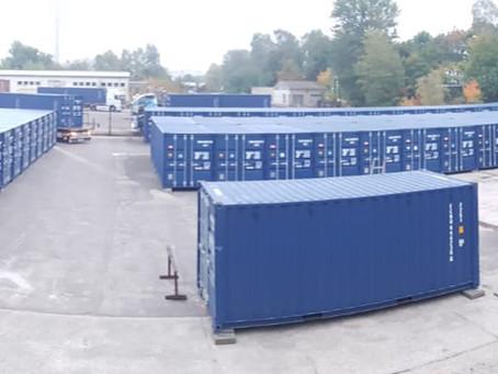 Lagerpark in Schwerin bekommt 100. Container