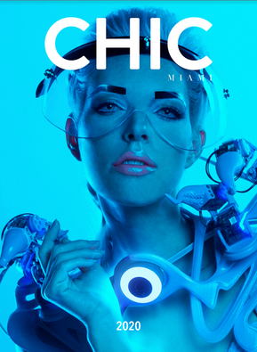 CHIC Miami Magazine and Anouk Wipprecht