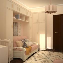 комната мебель  девочке классика