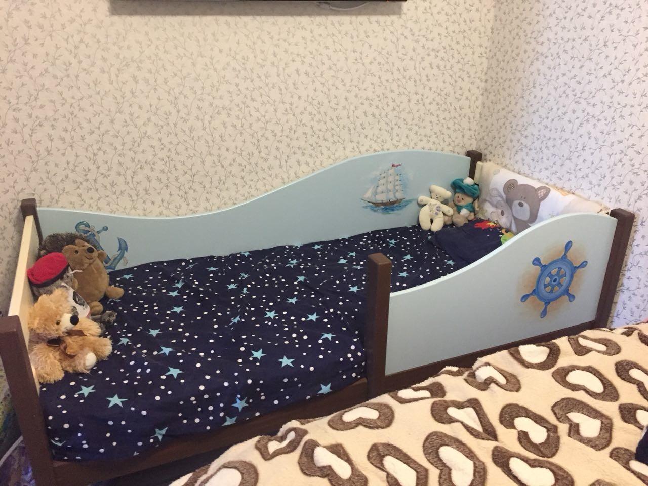 кроватка в морском стиле для малыша