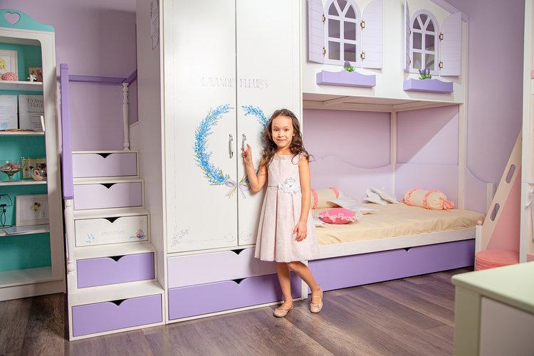 детская мебель прованс для девочки  прим